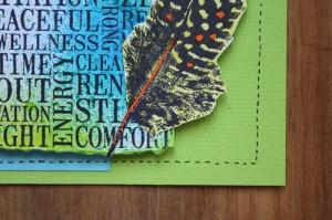Wellbeing Feather, Robyn Wood, Purple Salt