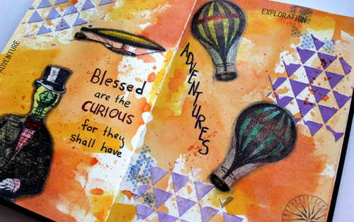 Blessed are the Curious - Robyn Wood Purple Salt