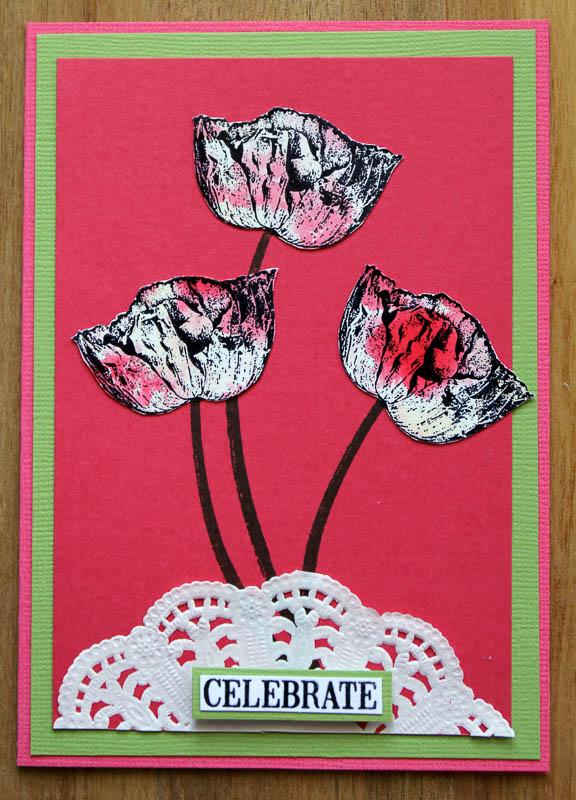 Celebrate with Poppies,Robyn Wood, Purple Salt