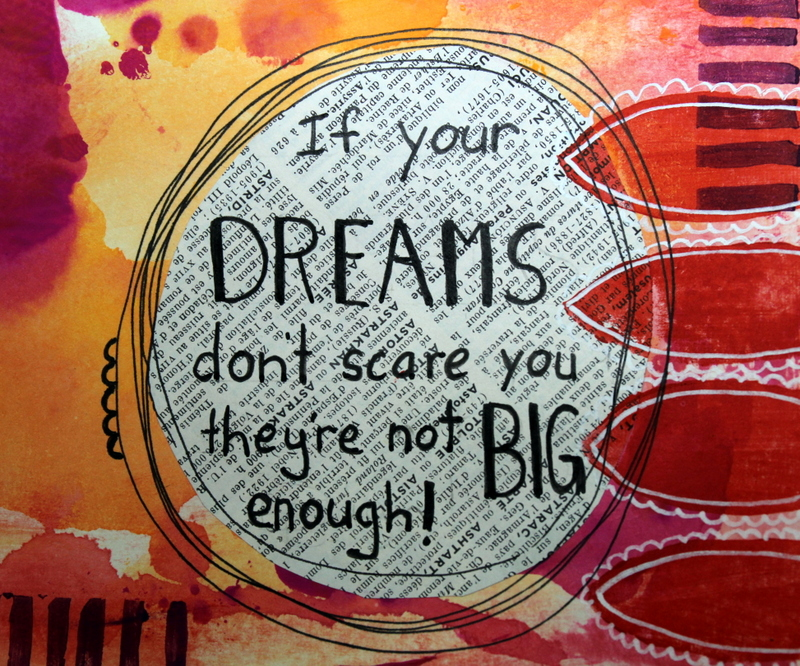 Robyn Wood - Dreams quote